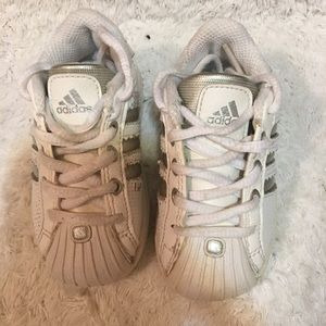 Adidas kid's sneakers size 5 toddler.
